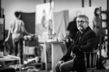 Андрей Даниел е роден на 28 март 1952 г. в Русе. Завършил е Художествената академия в София, където от 1992 г. е доцент, а от 1998 г. - професор по живопис.
