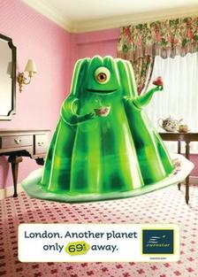 Лондон. Една друга планета само на 69 евро от теб.