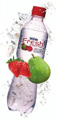 DEVIN създаде  здравословна газирана напитка