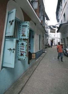 Романтична уличка в столицата на Занзибар