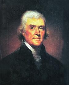 Президентът Томас Джеферсън, човекът, от когото донякъде започна всичко това