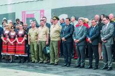 """Официалното откриване на съвместното предприятие между International Armored Group и """"Самел-90"""", специализирано в производството на продукти за армията и полицията"""