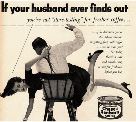 Насилие срещу жени в рекламата.