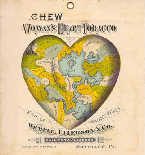 1877 г.: Жените обичат да дъвчат тютюн.